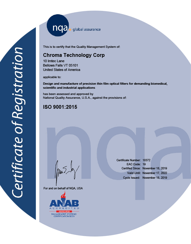 Chroma-ISO-Certificate